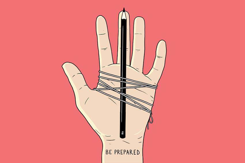 Be Prepared Matt Blease Design Illustration Amp Art Direction