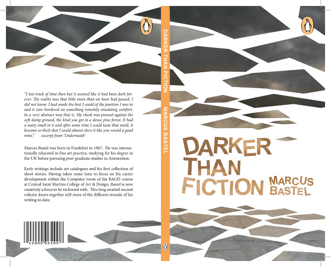 Book Cover Design Course ~ Darker than fiction book cover design shinsaku iwatachi