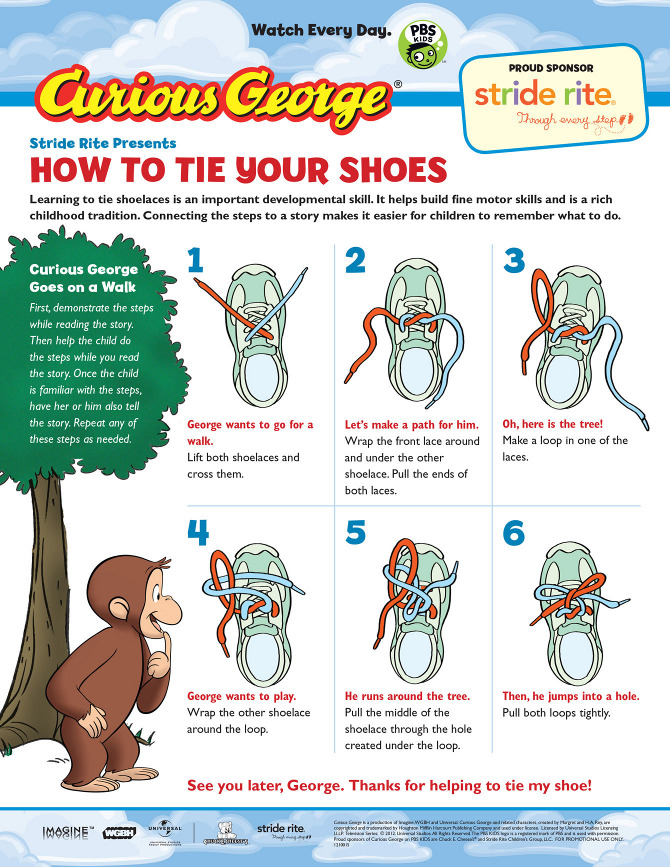 how to tie your shoes jonathan rissmeyer