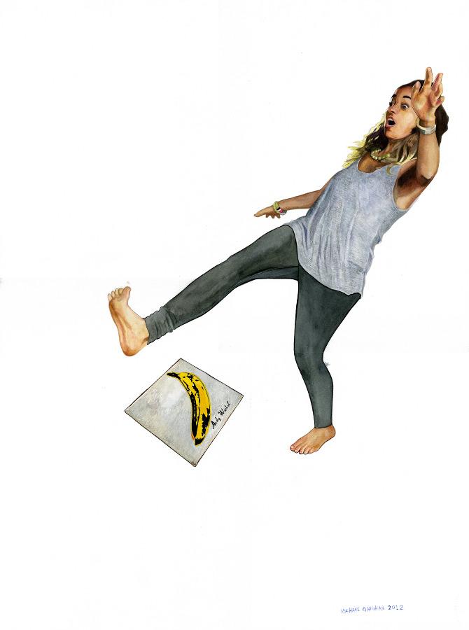 Whoopsie (banana slip)...